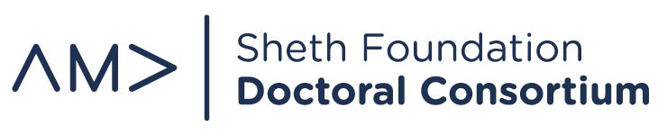 AMA Sheth Foundation Doctoral Consortium logo