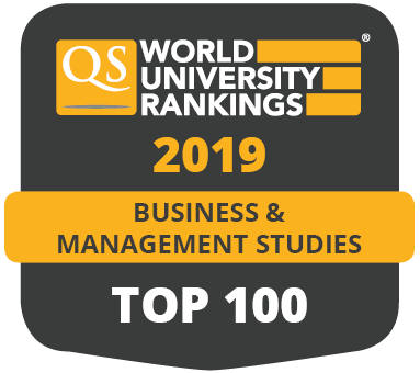 QS World University Rankings (Business and Management Studies) 2019