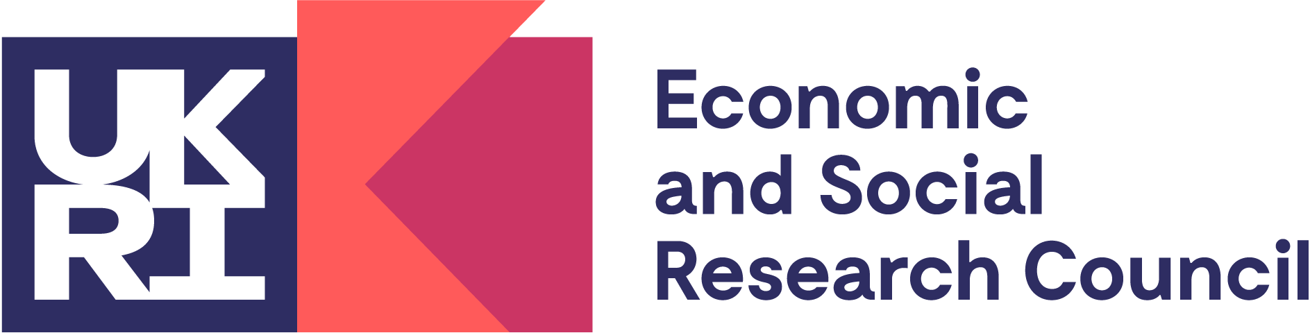 UKRI and ESRC logo
