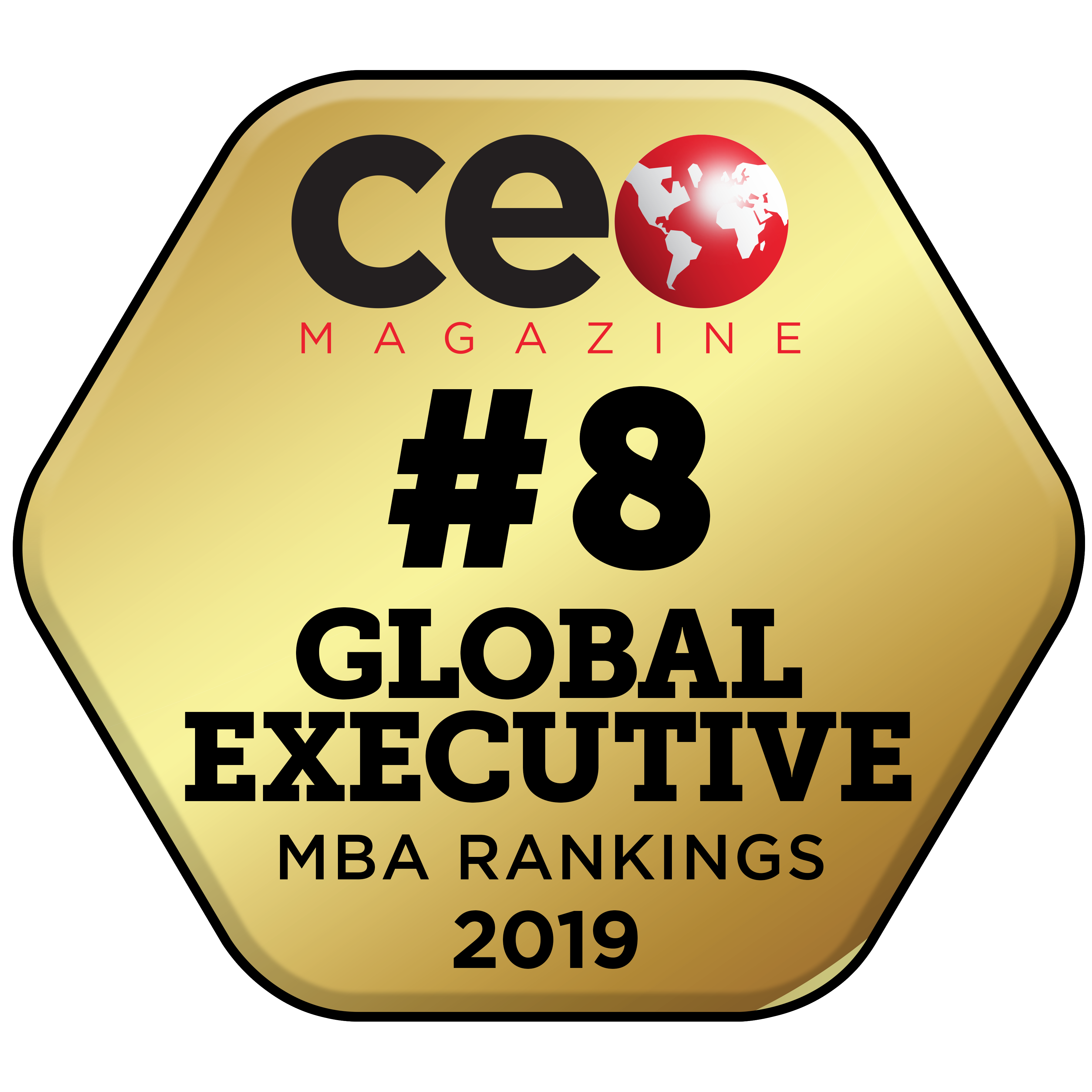 CEO Magzine Global EMBA Rankings 2019