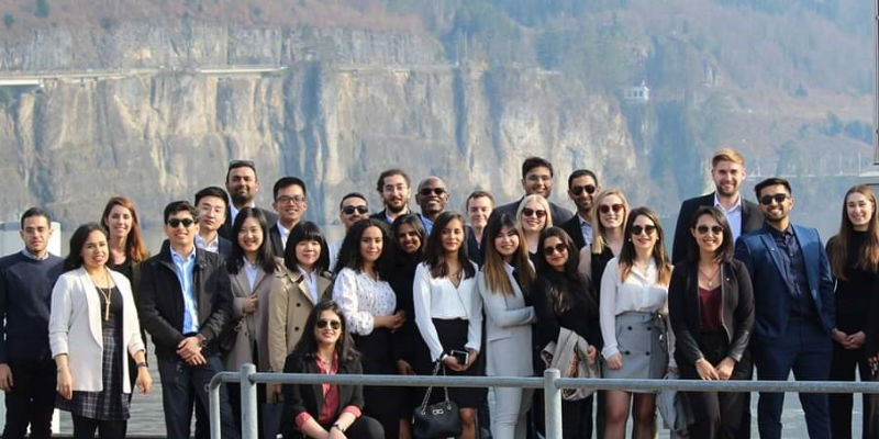 Masters students in Switzerland