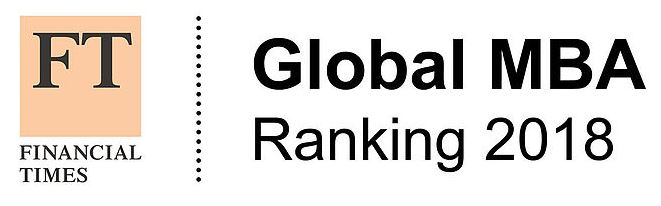 FT Global MBA rankings 2018 logo