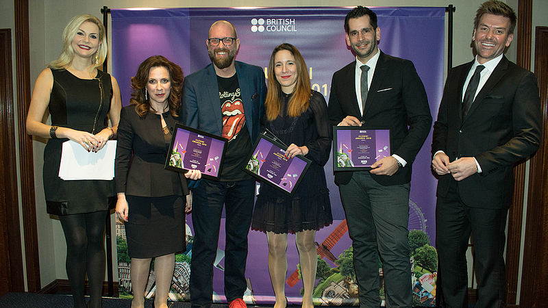 LUBS finalist in British Council Study UK Alumni Awards, Greece