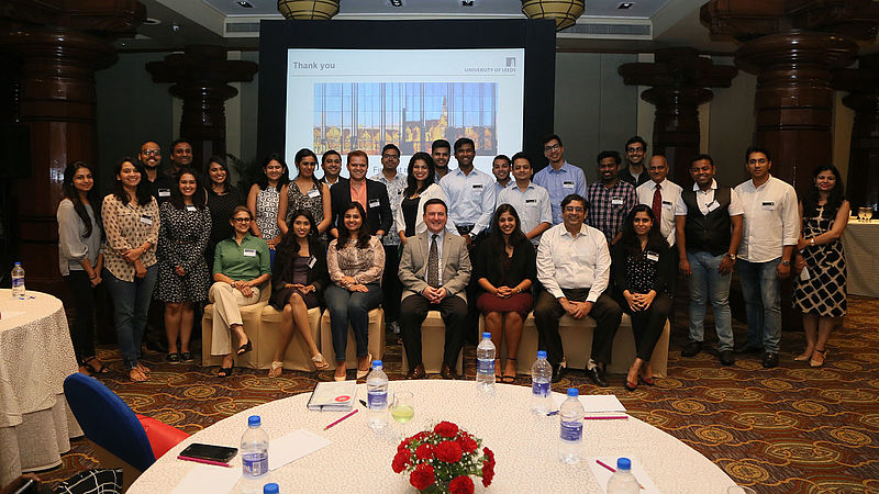 Record attendance for our India alumni tour 2018