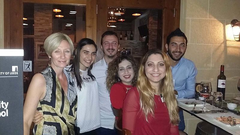 Cathy Myles hosts alumni networking event in Cyprus