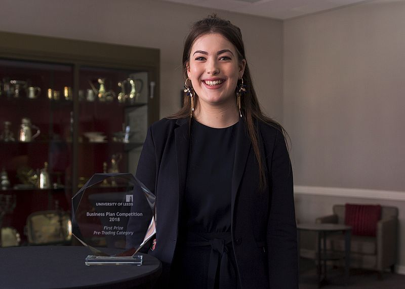 3rd year student wins University's business plan prize