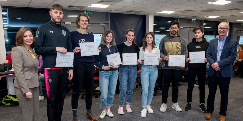 Success for students in Dragons' Den panel event