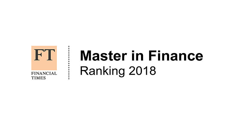 Success in FT Master in Finance Ranking 2018