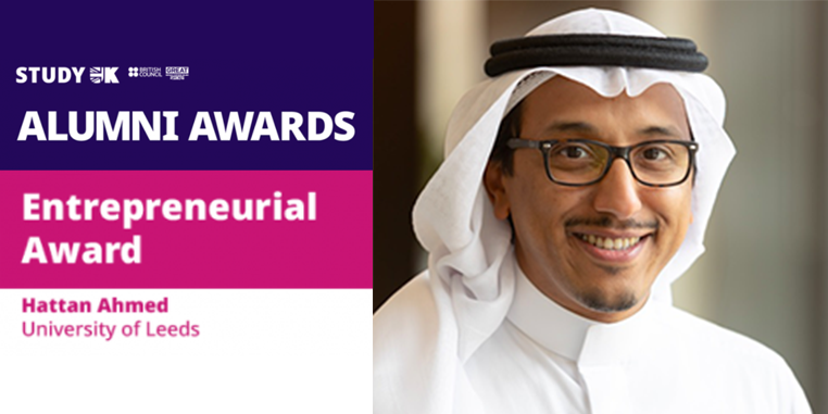 Alumnus finalist in British Council Alumni Awards