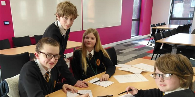 Business School hosts successful outreach day with North Yorkshire School