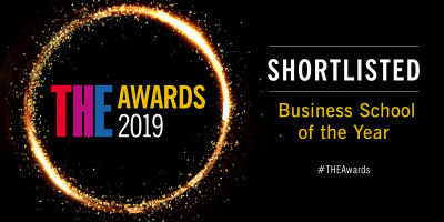Shortlisted for THE Business School of the Year 2019