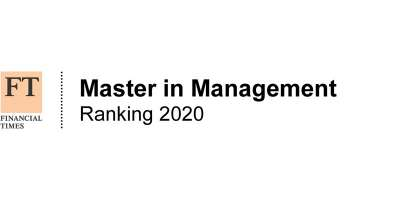 Financial Times Master in Management Ranking  2020 logo