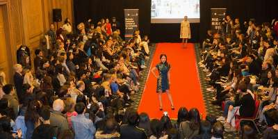 Fashion show hosted by the Business Confucius Institute at University of Leeds