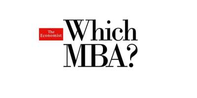 The Economist Which MBA logo