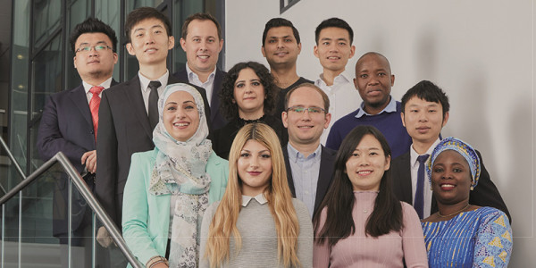 A group photograph of the CASIF team