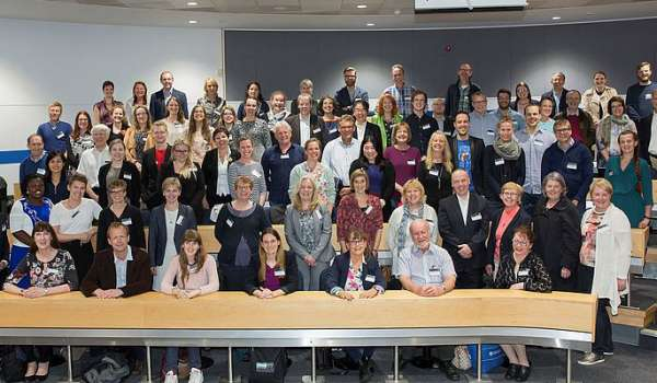 Delegates at the 3E conference in the Maurice Keyworth building.
