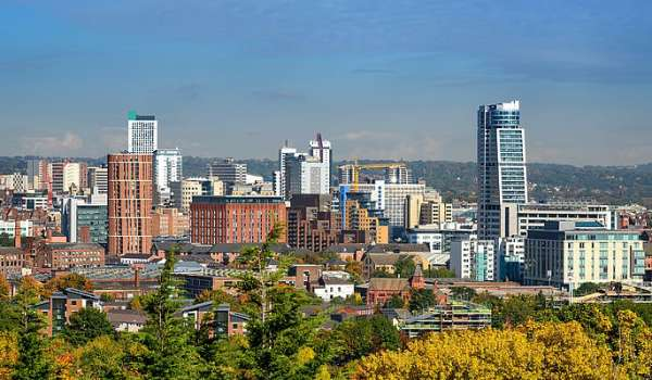 Photograph of Leeds skyline