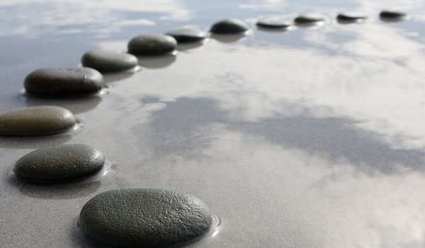 Image of stepping stones