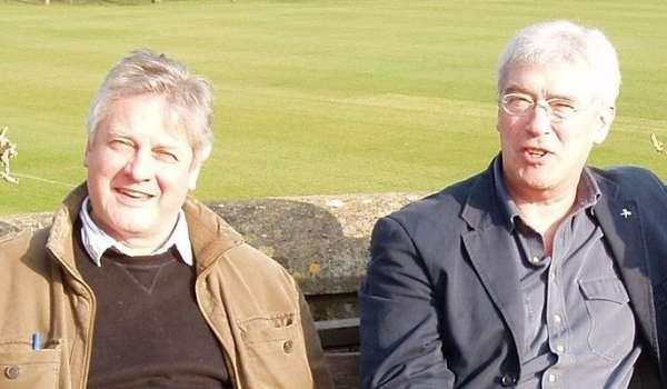 Photograph of Stuart Delves and Jamie Jauncey